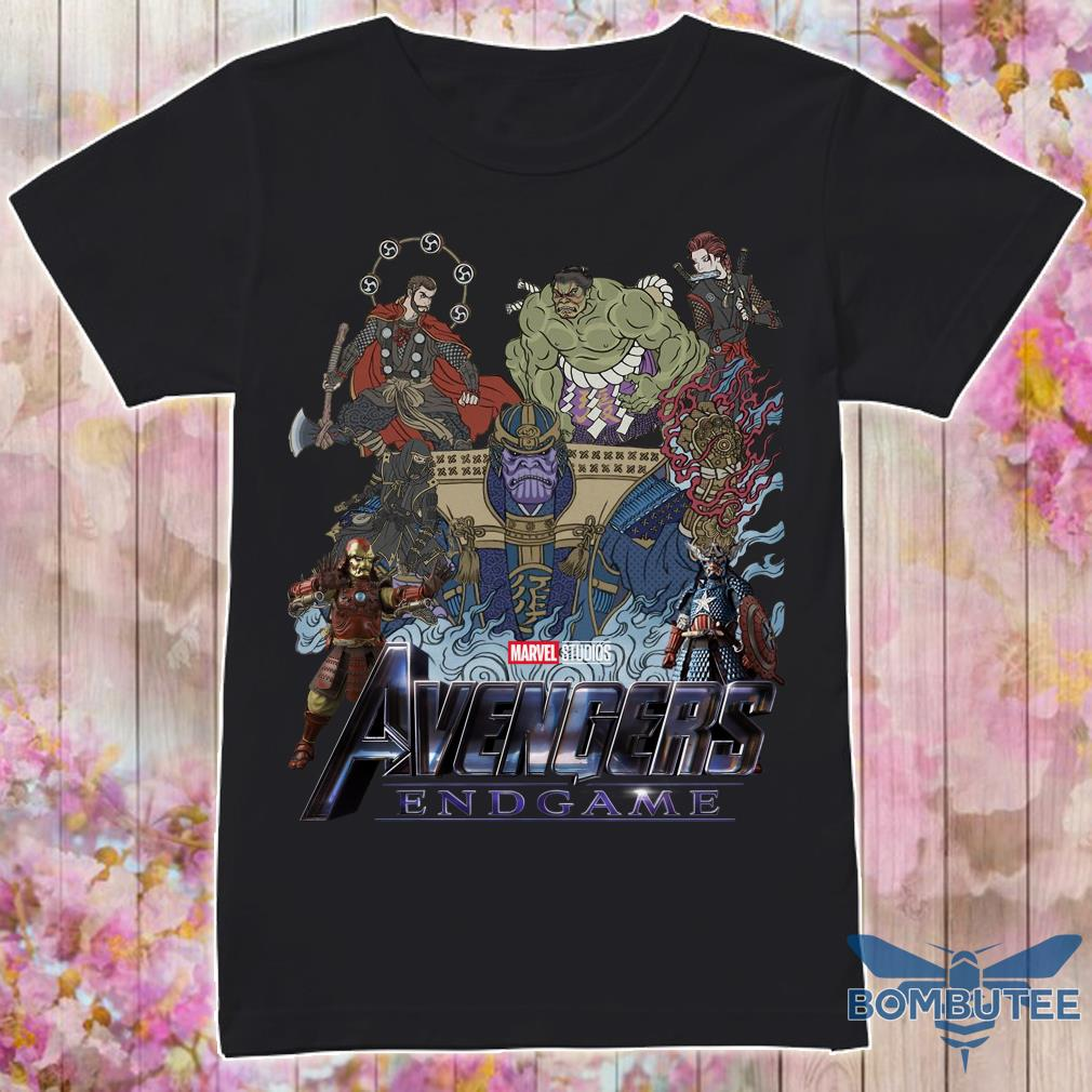 Avenger Endgame Version Samurai Shirt