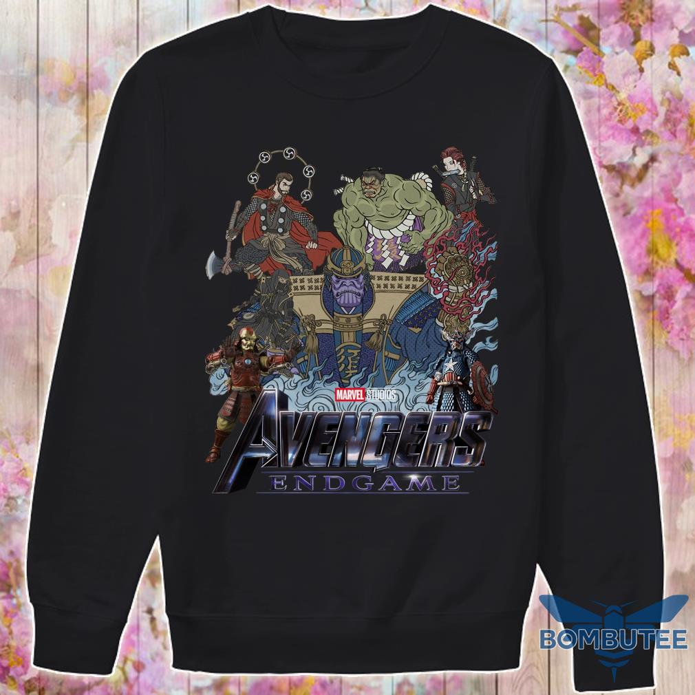 Avenger Endgame Version Samurai sweater