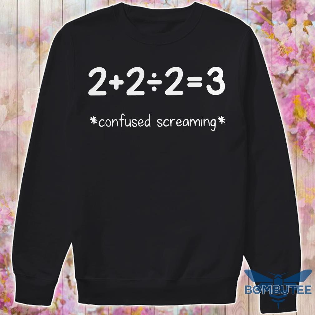 Confused Screaming sweater