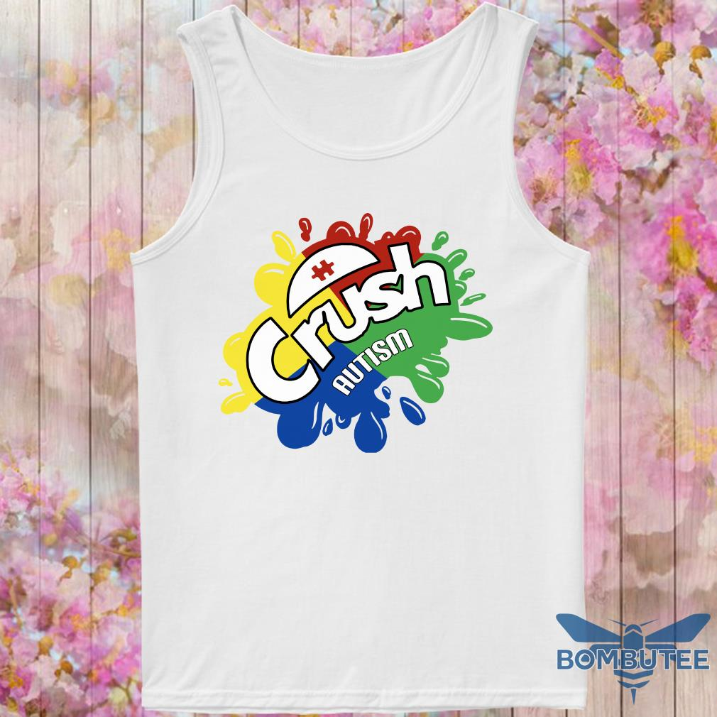 Crush Autism tank top