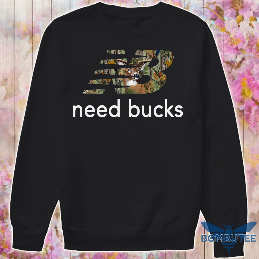 New Balance Need bucks Hunting sweaterNew Balance Need bucks Hunting sweater