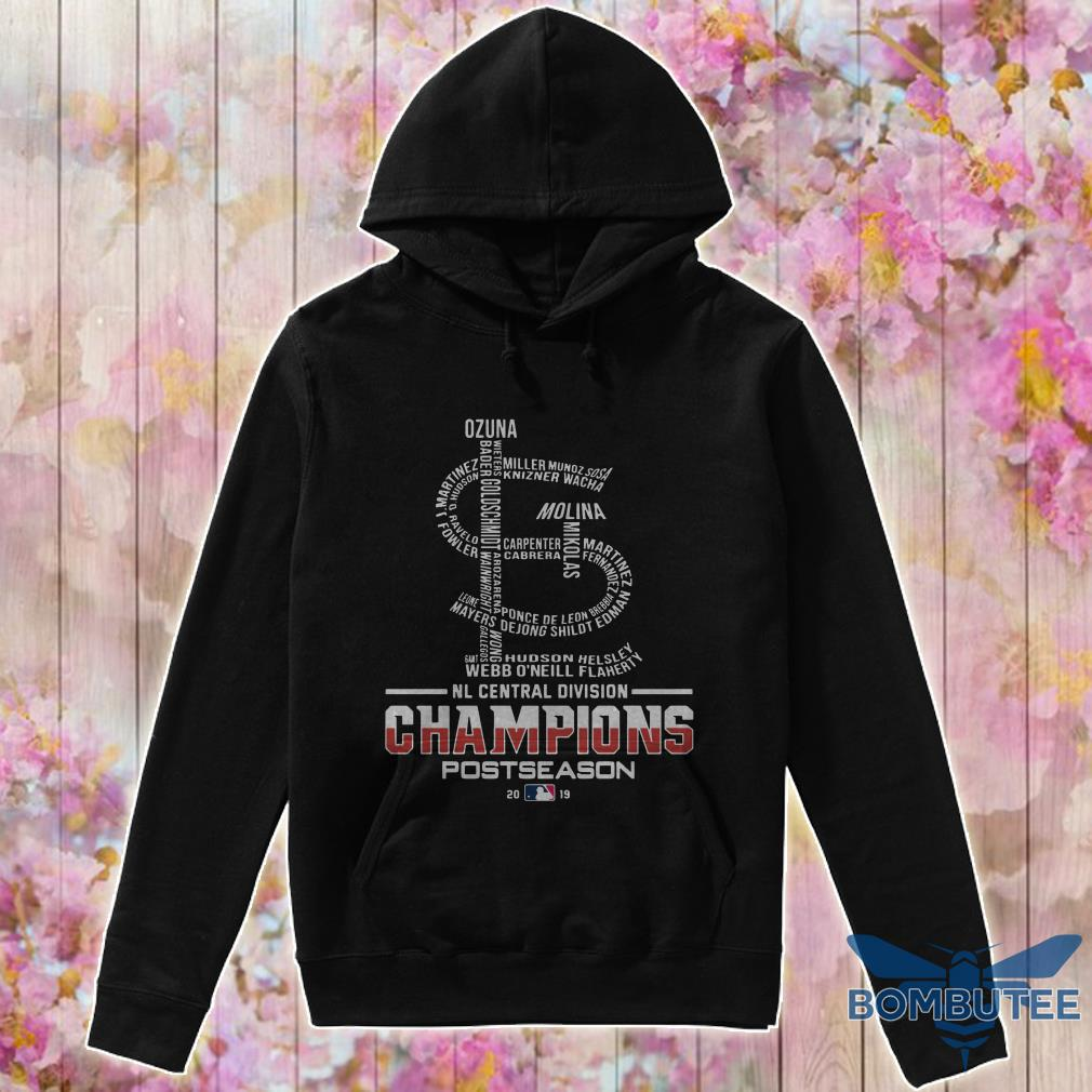 Nl Central Division Champions Postseason 2019 hoodie