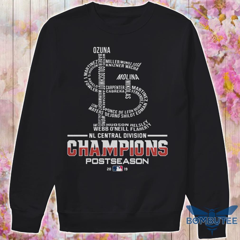 Nl Central Division Champions Postseason 2019 sweaterNl Central Division Champions Postseason 2019 sweater