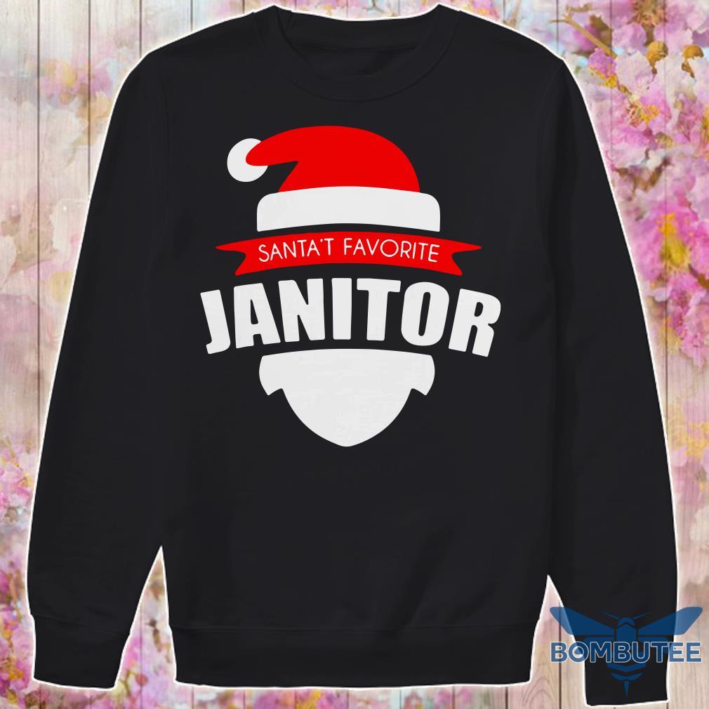 Santa's Favorite Janitor Christmas sweater