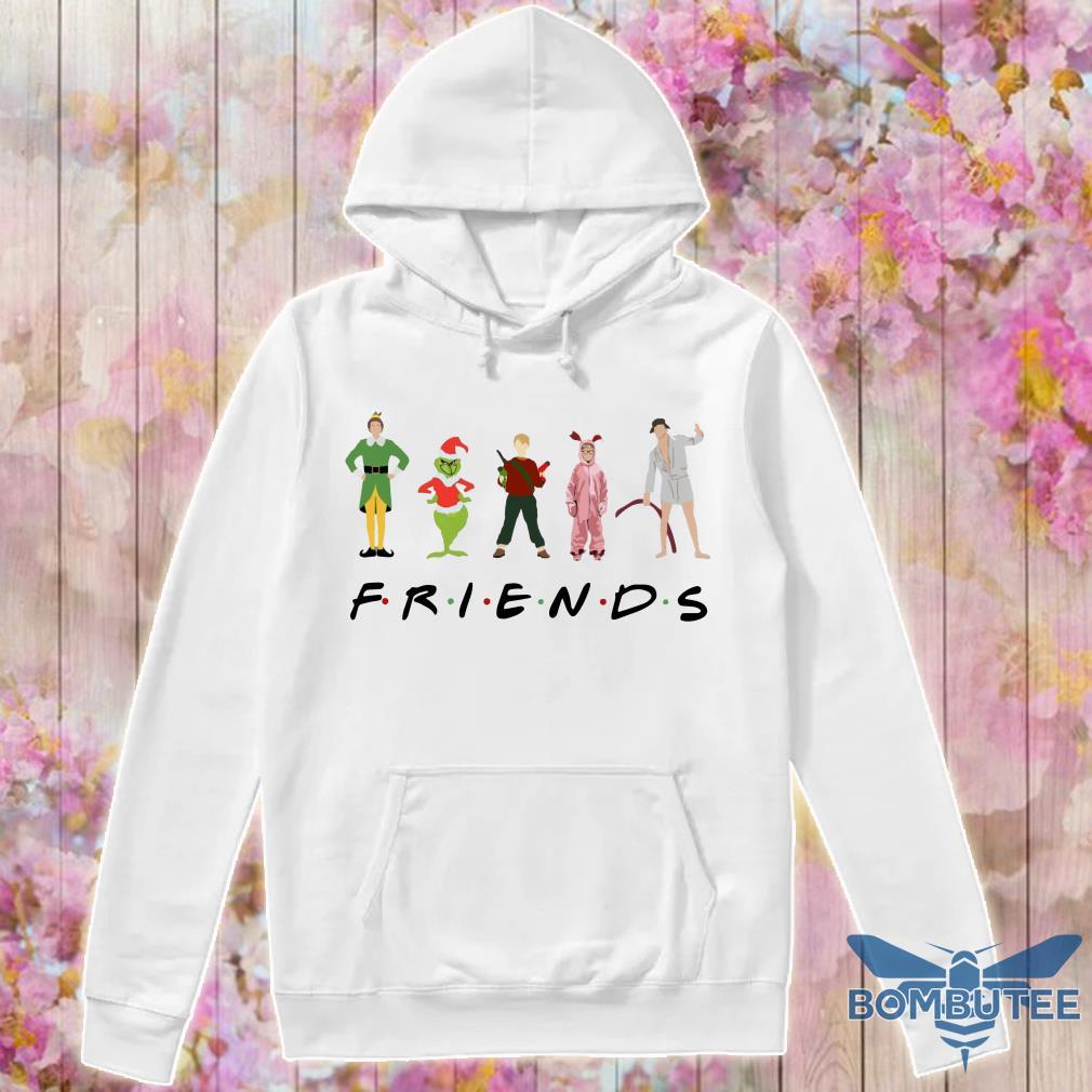 Friends Elf Christmas Movie Characters hoodie
