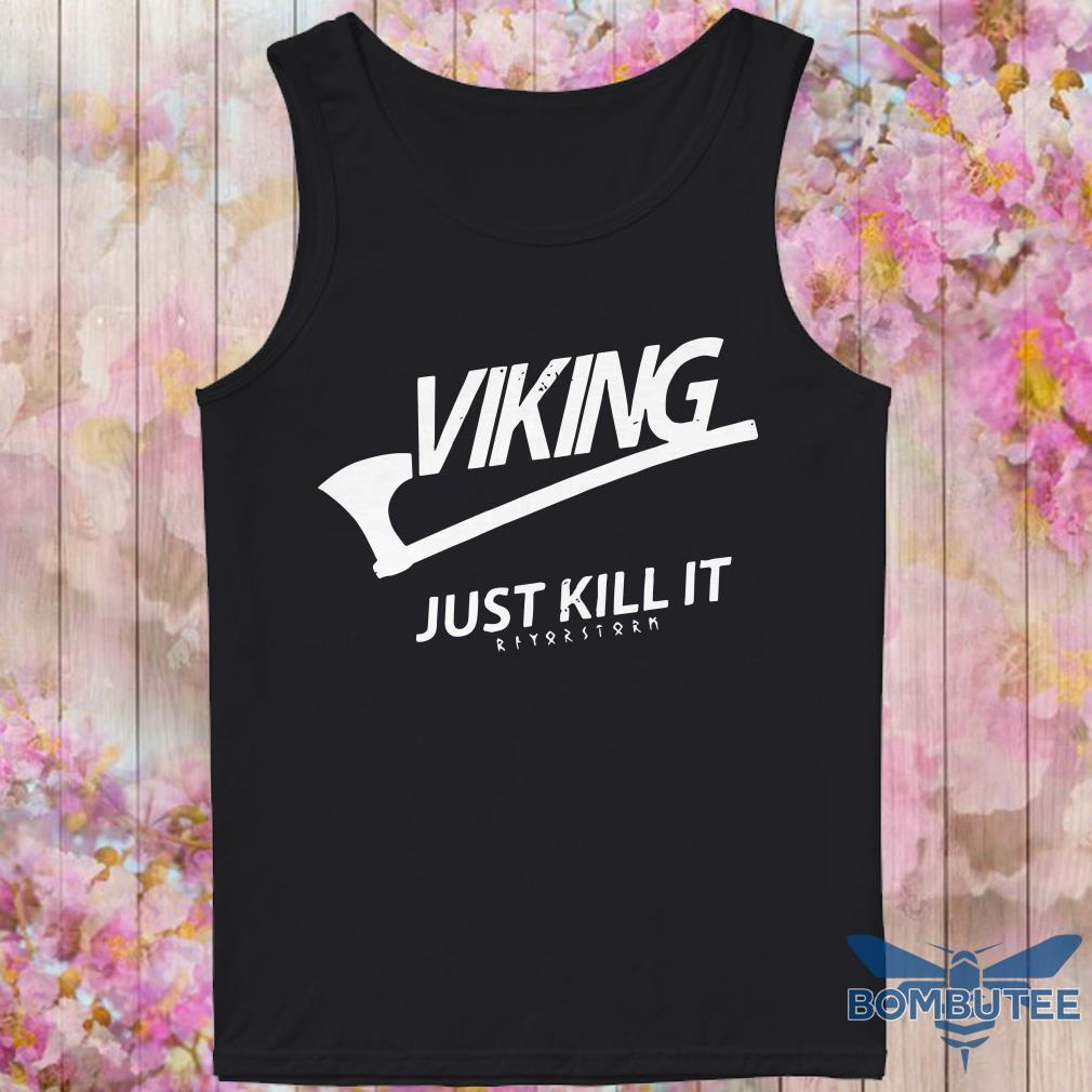 Official Viking Just Kill It tank top