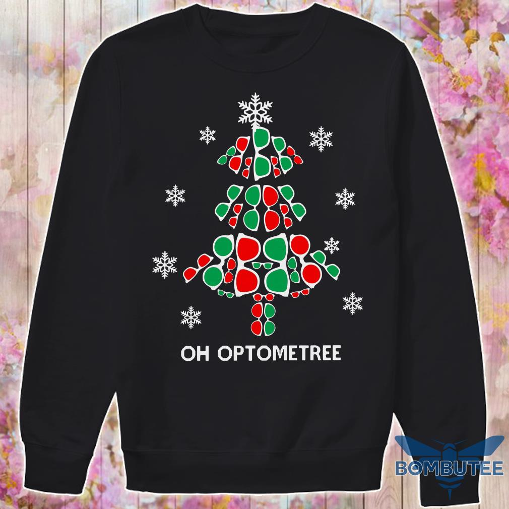 Oh Optometree Christmas Tree Sweater