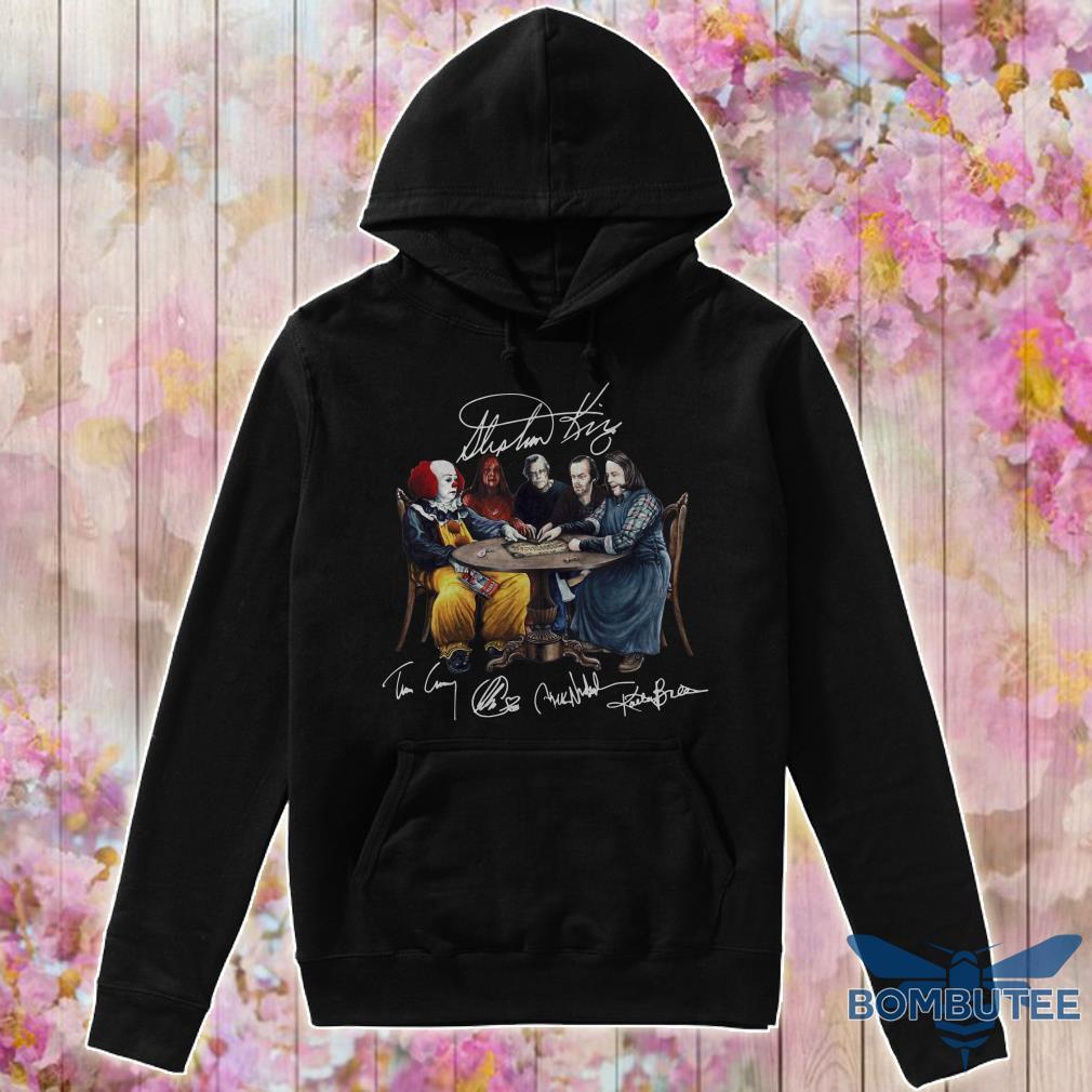 Stephen King Signatures hoodie