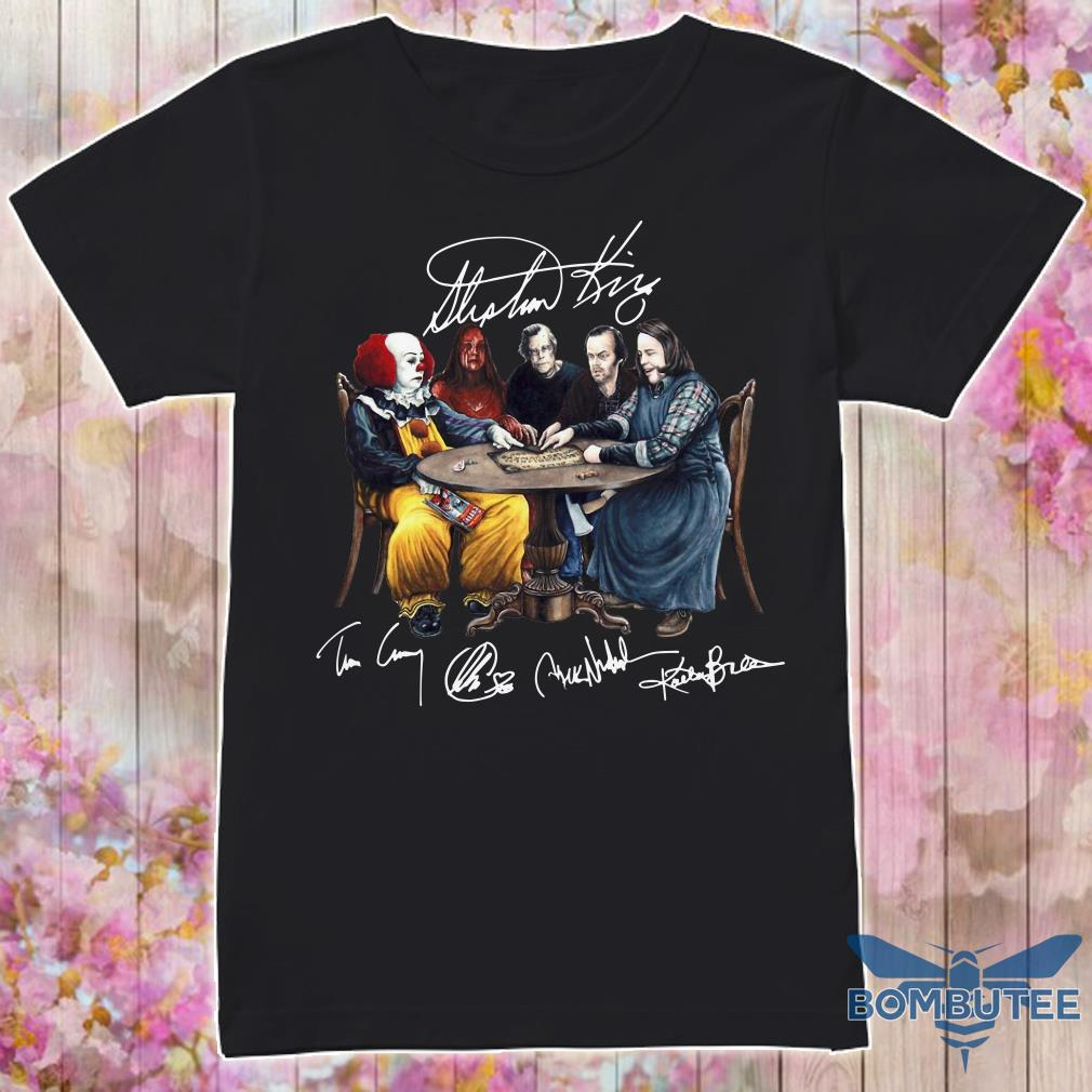Stephen King Signatures Shirt
