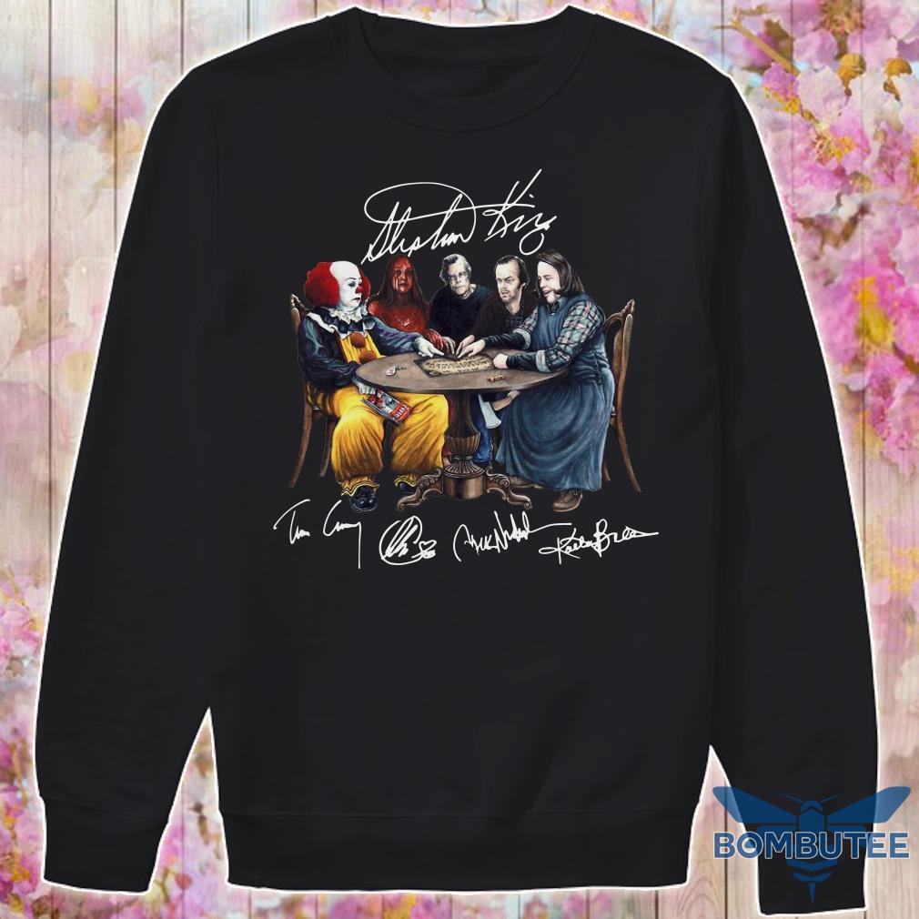 Stephen King Signatures sweater