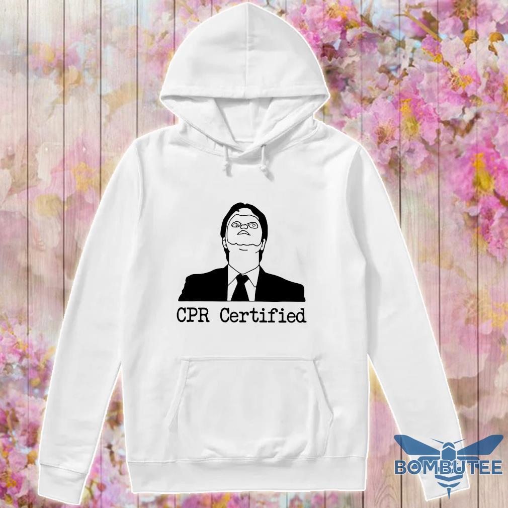 Official cpr certified s -hoodie