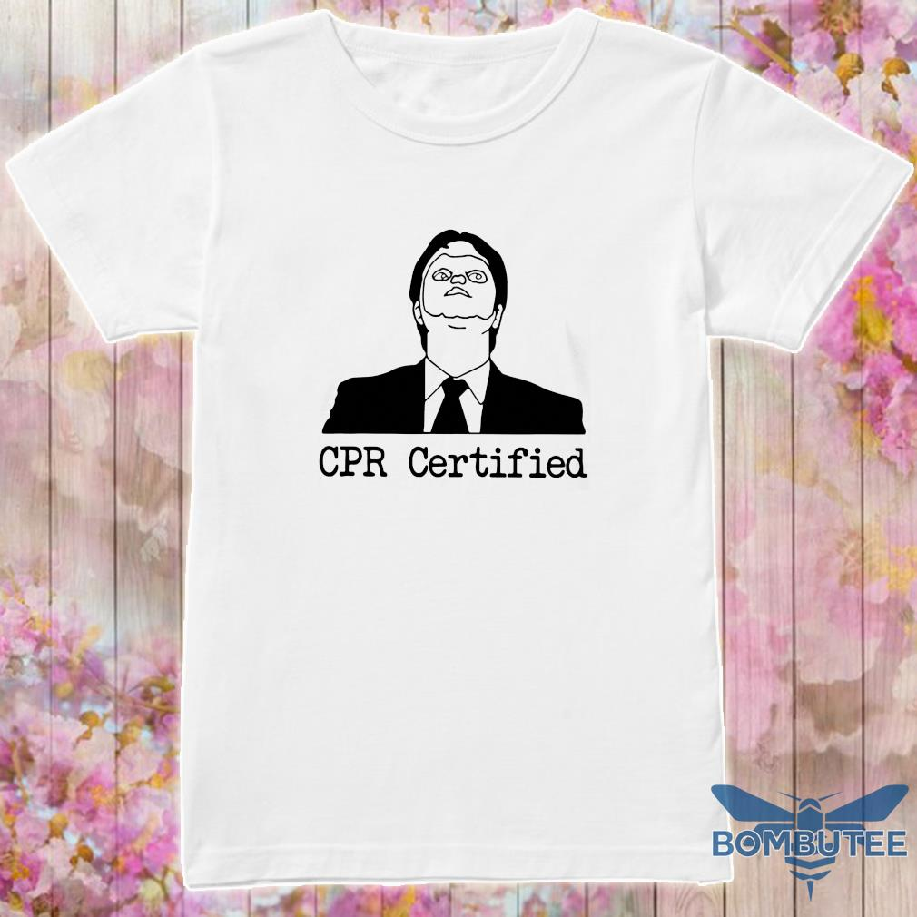 Official cpr certified shirt