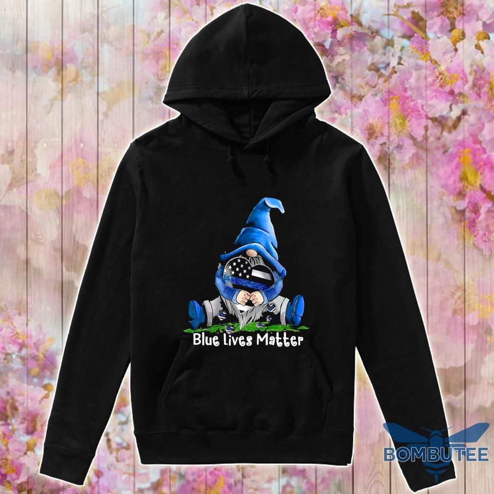 Official gnomes hug blue lives matter s -hoodie