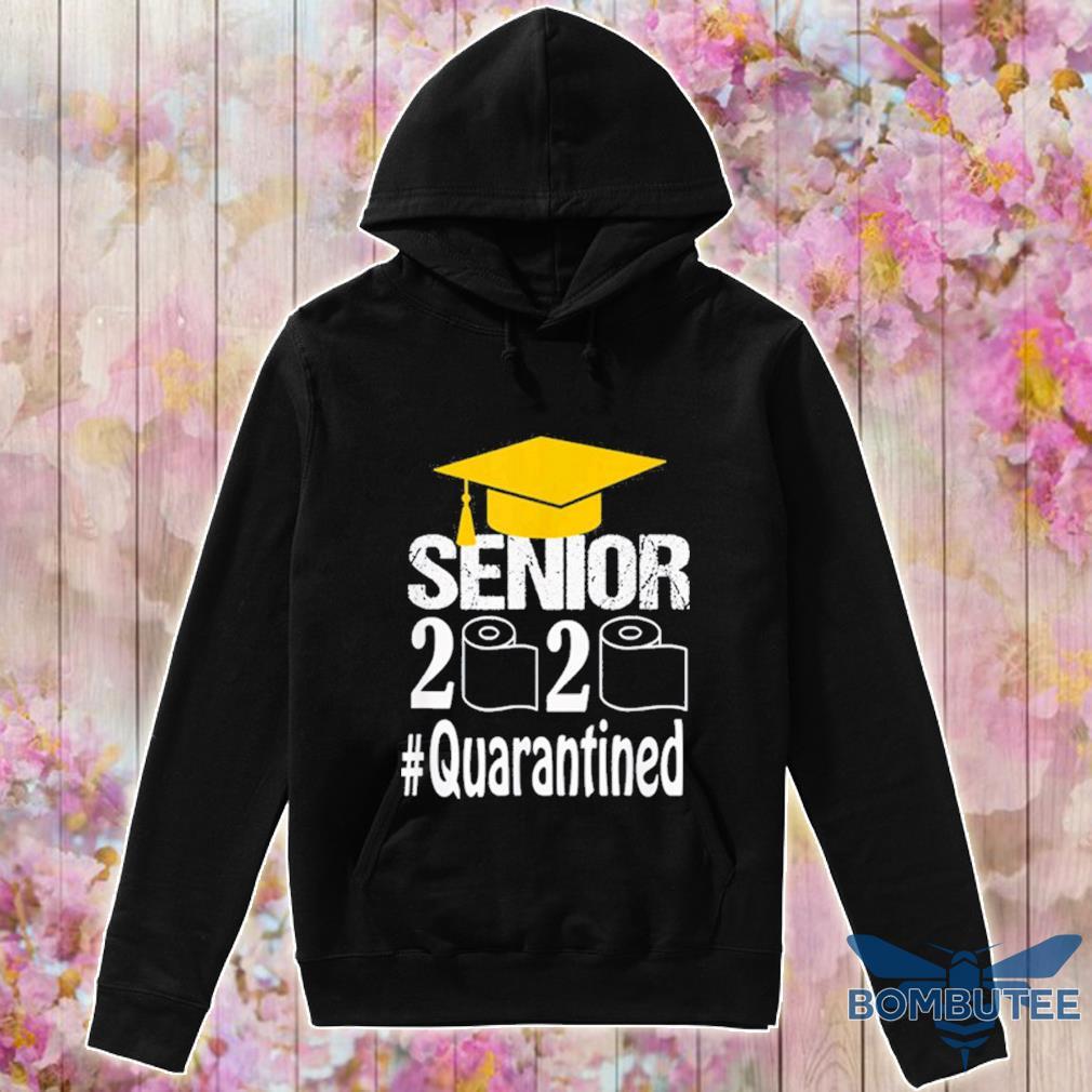 Senior Class Of 2020 Shit Just Got Real Graduation Funny Shirt -hoodie