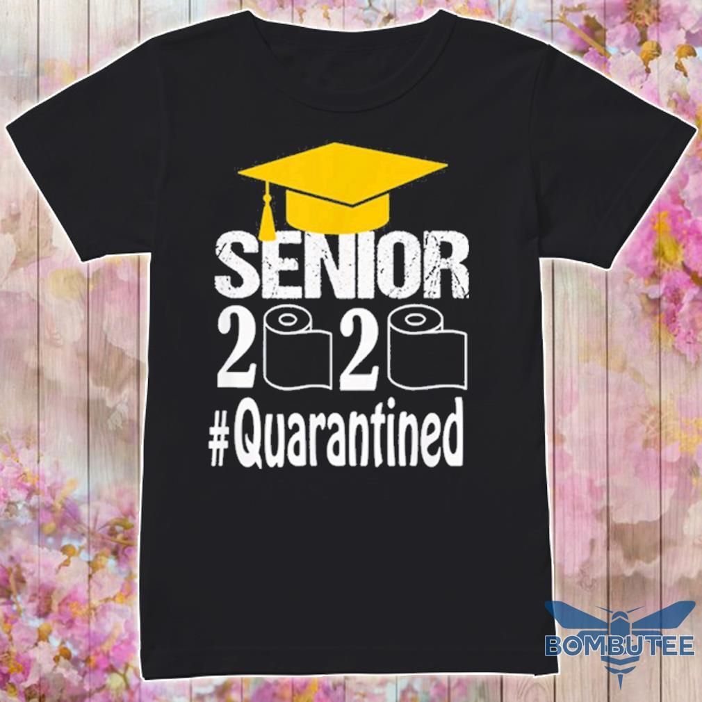 Senior Class Of 2020 Shit Just Got Real Graduation Funny Shirt