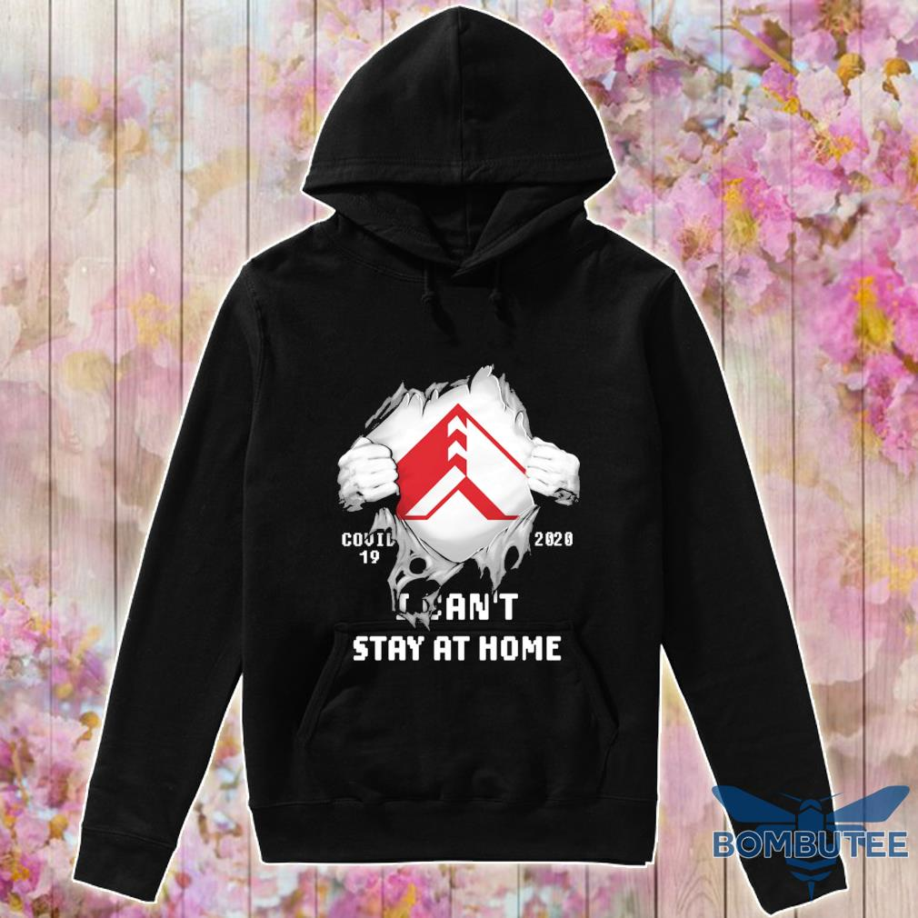 Blood inside me American Woodmark Corporation covid-19 2020 i can't stay at home s -hoodie