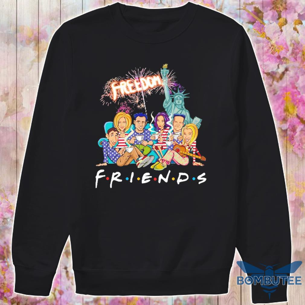 Friends freedom american Flag Day s -sweater