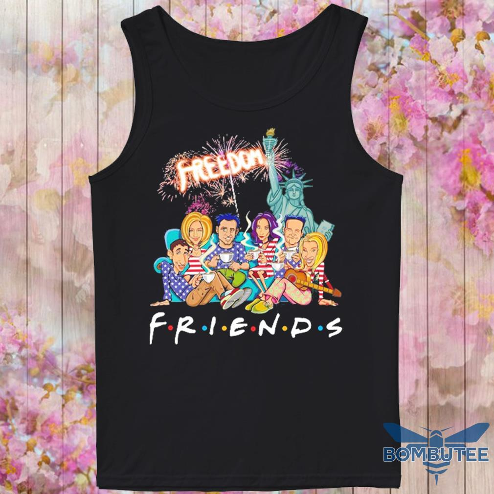 Friends freedom american Flag Day s -tank top