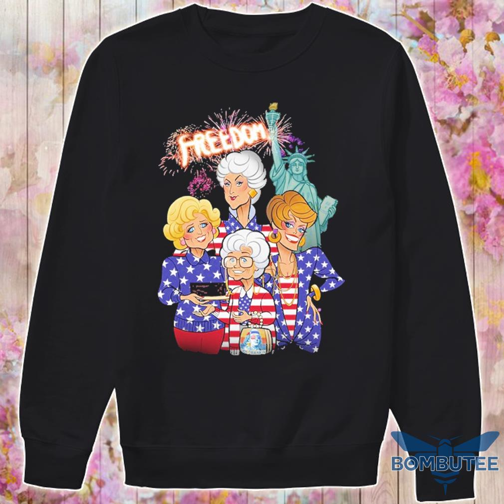 Golden girls freedom american Flag Day s -sweater