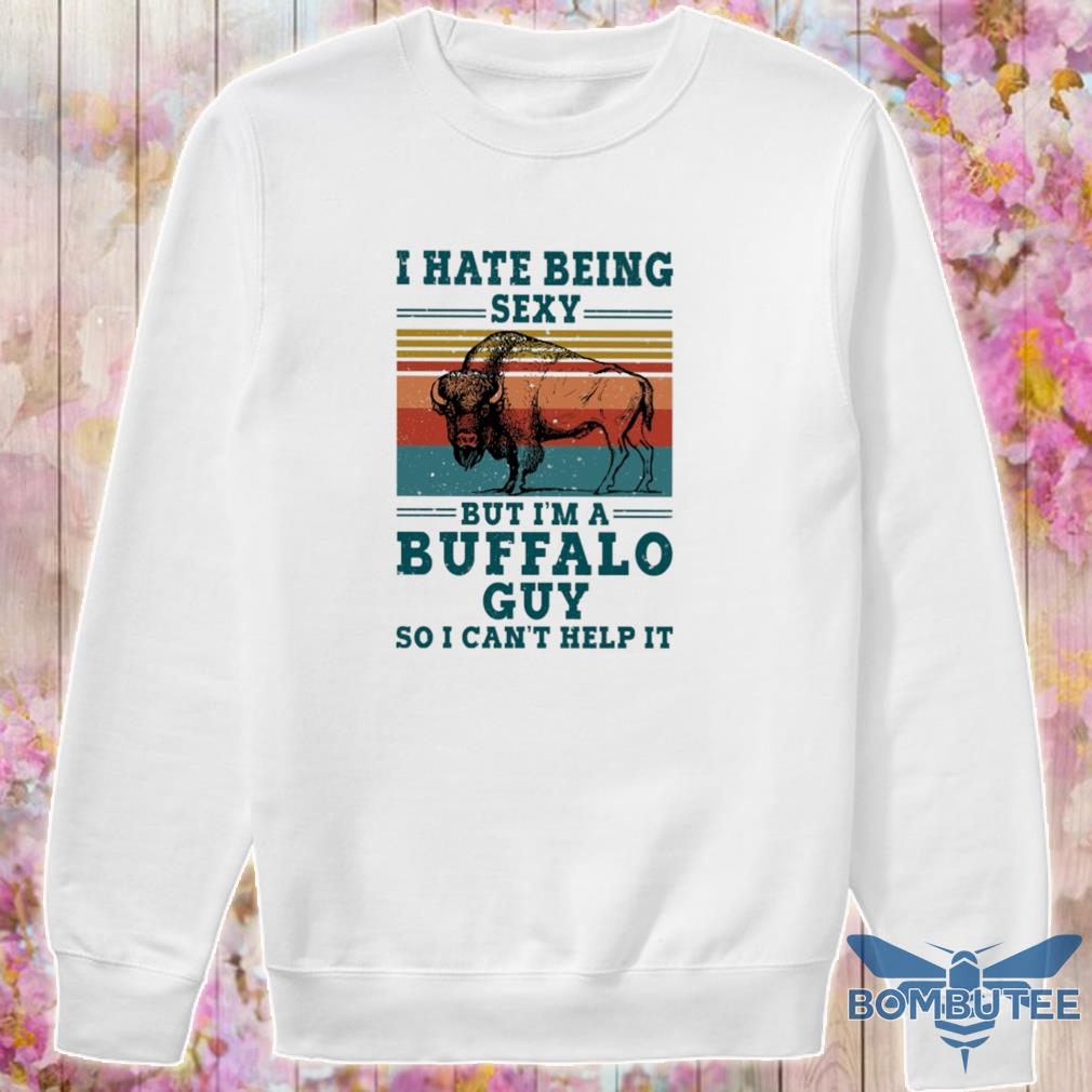 I hate being sexy but i'm a Buffalo guy so i can't help it vintage s -sweater