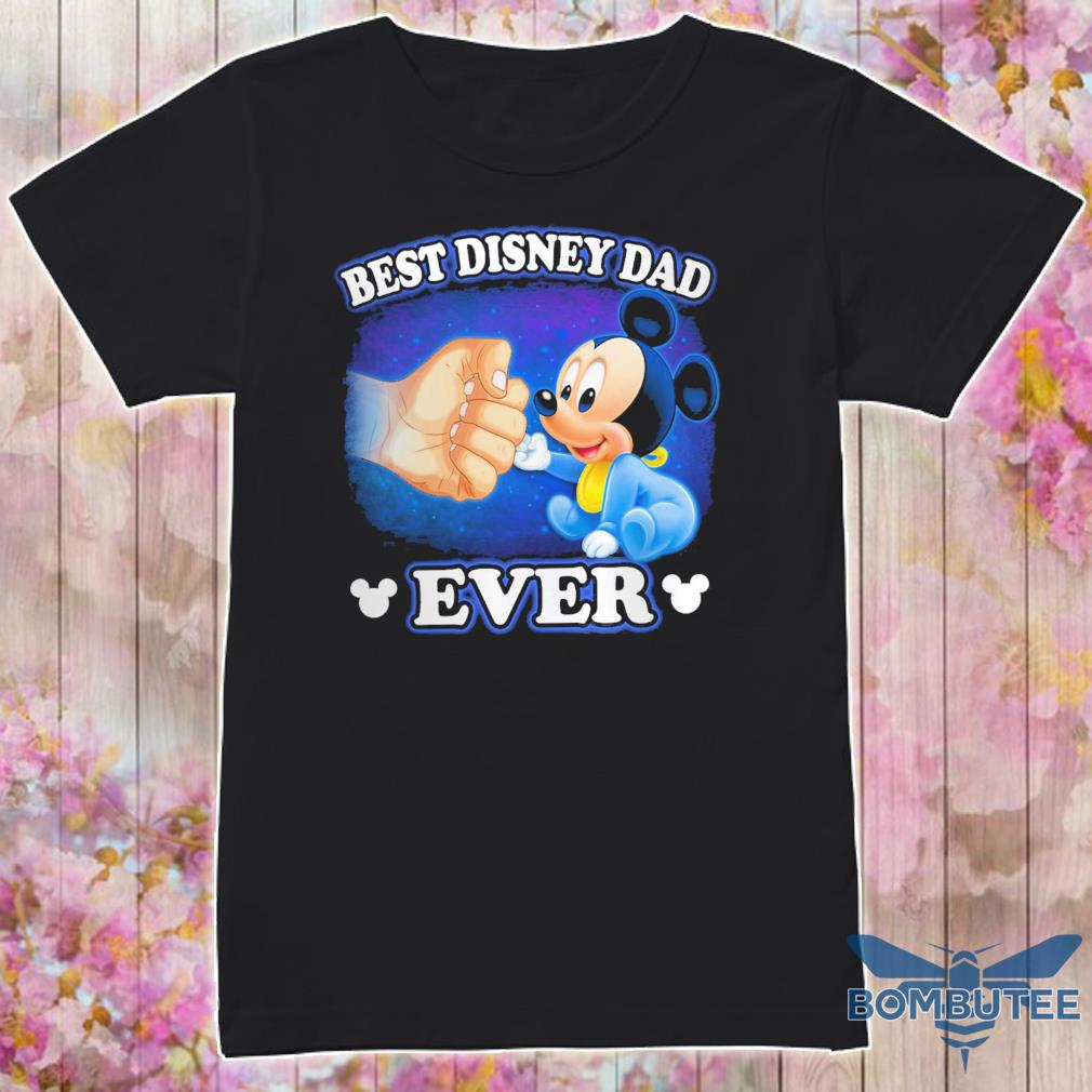 Mickey mouse best disney Dad ever shirt