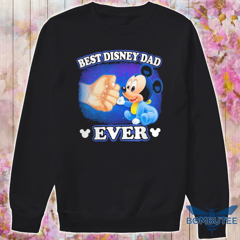 Mickey mouse best disney Dad ever s -sweater