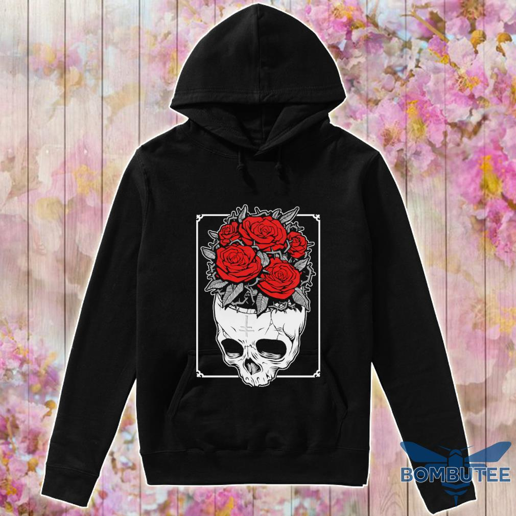 Skull Roses s -hoodie