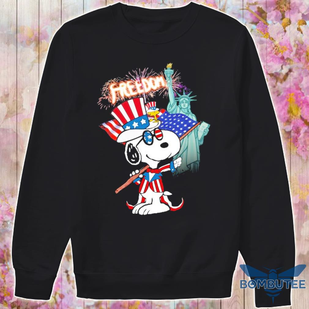 Snoopy Flag Day freedom s -sweater