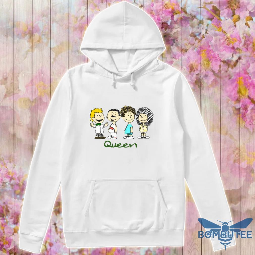Nice The peanuts characters queen s -hoodie