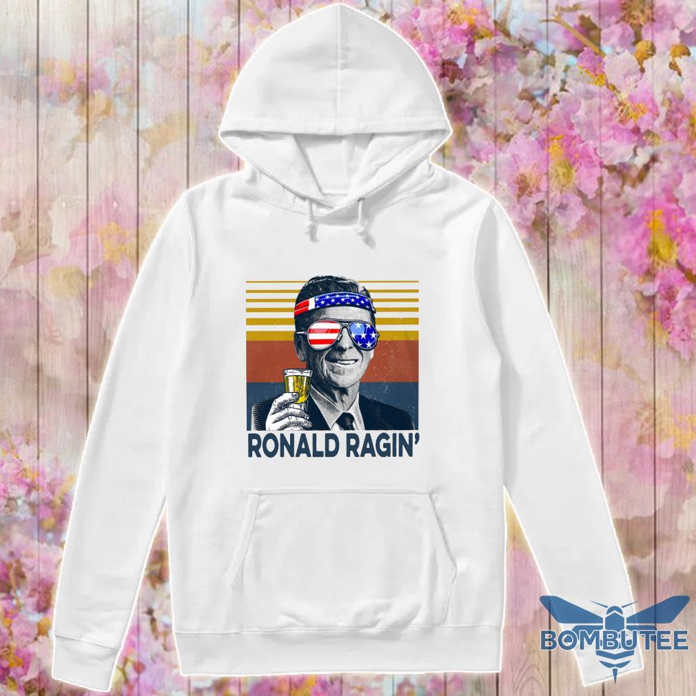 Ronald Ragin drink beer happy the 4th of july vintage s -hoodie