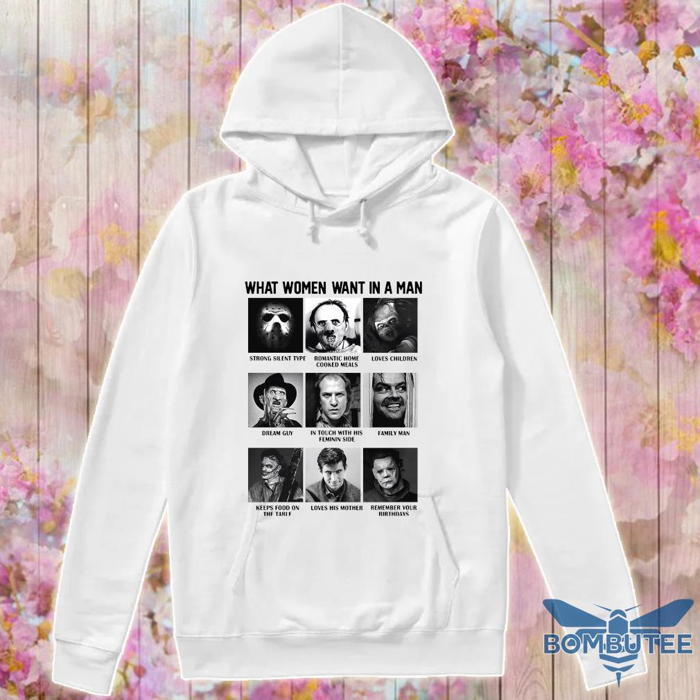 What women want in a man character s -hoodie