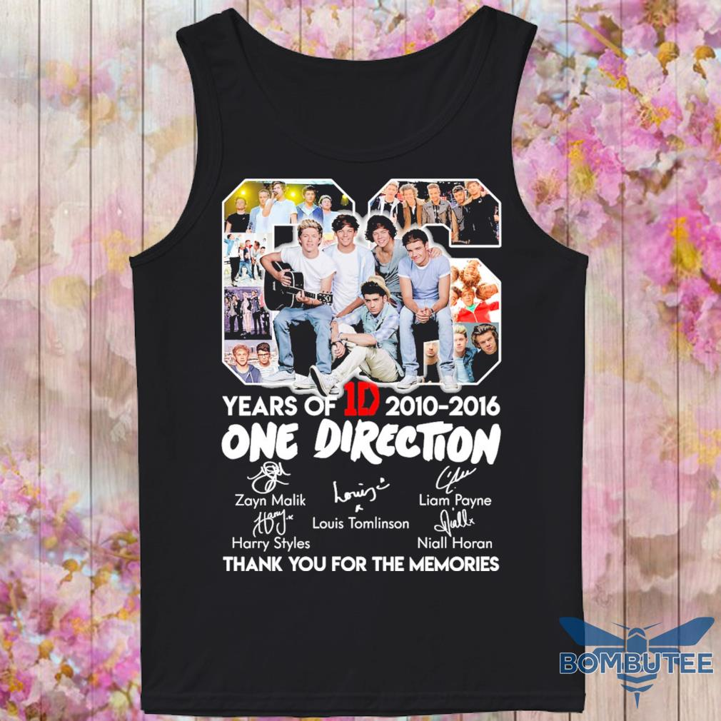 06 Years Of One Direction 1D 2010 2016 s -tank top