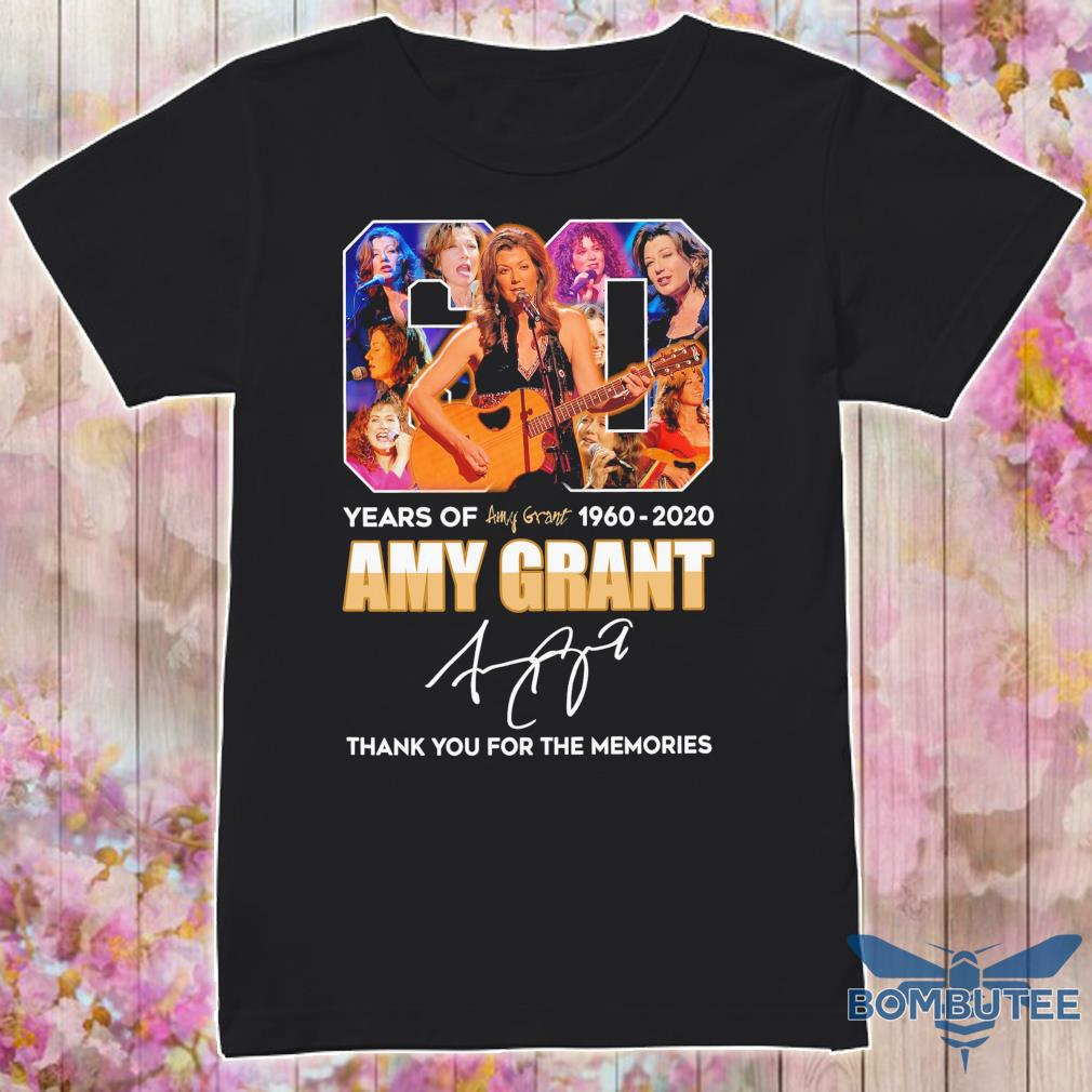6o year of 1960 2020 Amy Grant signature shirt