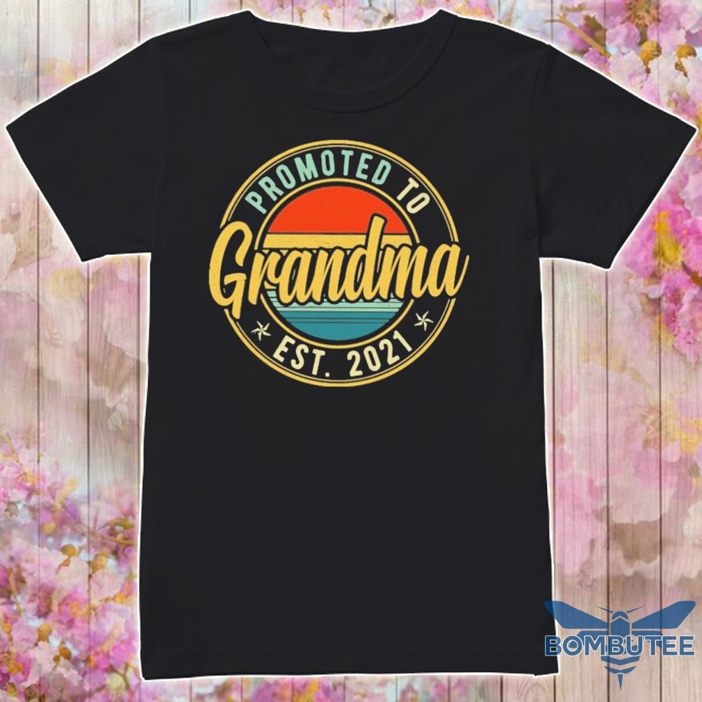 Promoted to Grandma EST 2021 shirt