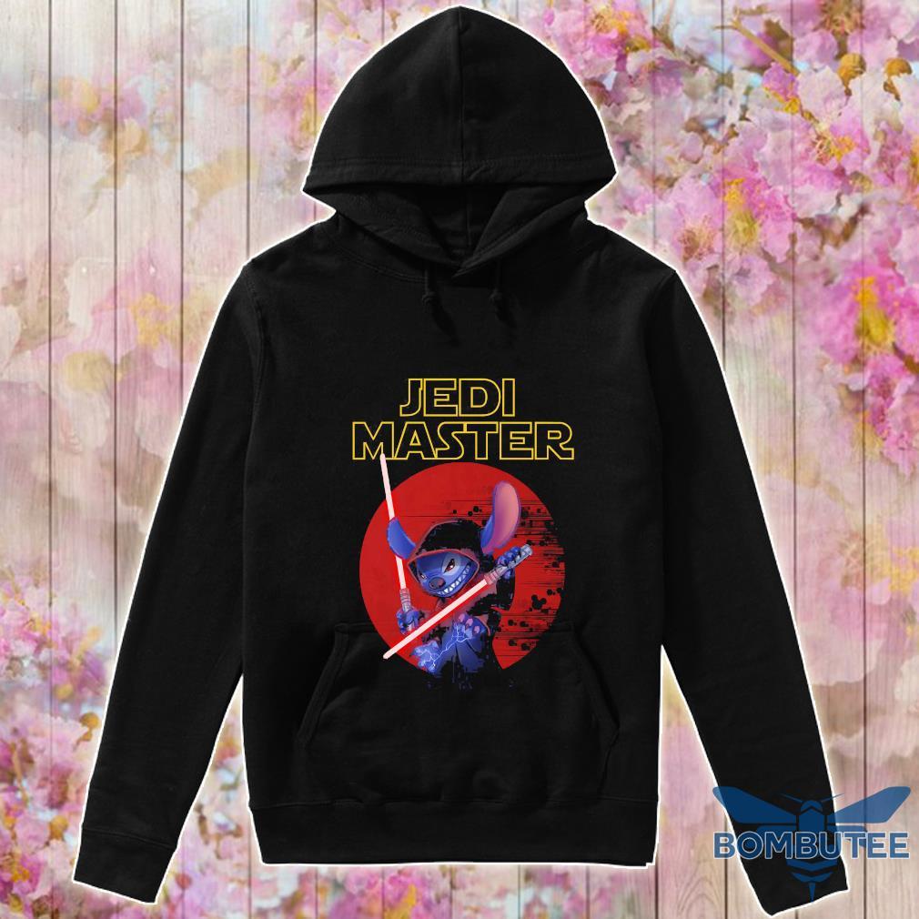 Stitch Jedi Master blood moon s -hoodie