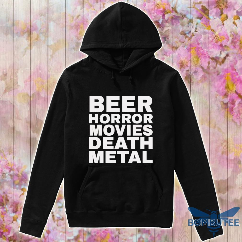 Bear Horror movie death metal s -hoodie