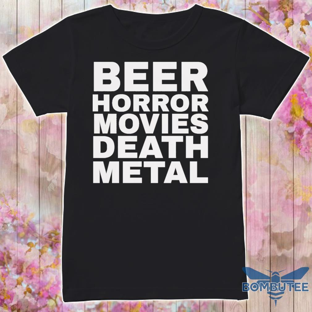 Bear Horror movie death metal shirt