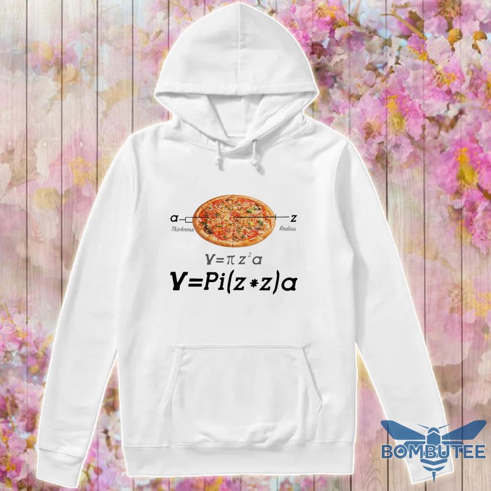 Pizza thickness radius s -hoodie