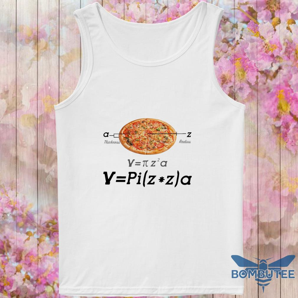 Pizza thickness radius s -tank top