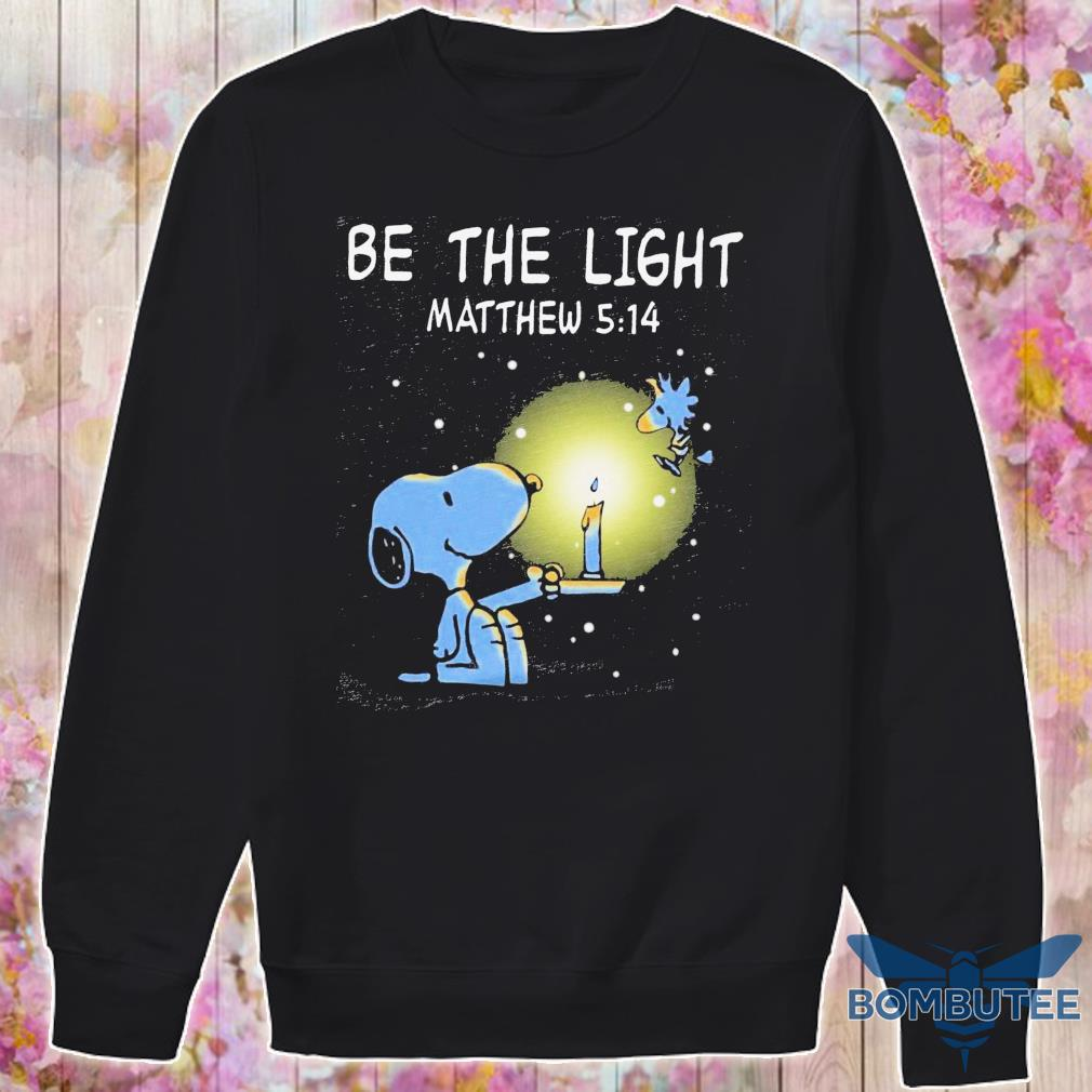 Snoopy and Woodstock be the light Matthew 5 14 s -sweater