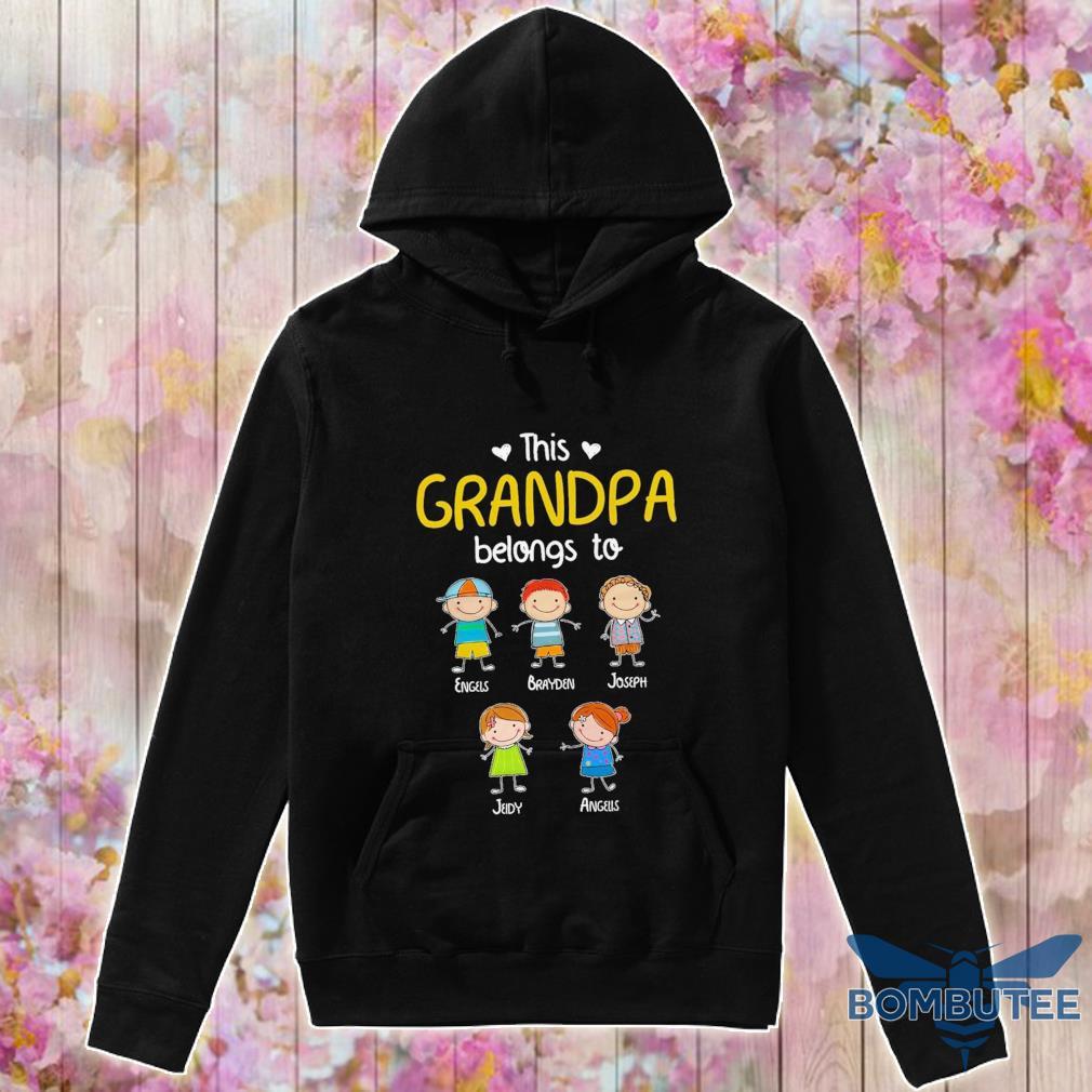 This Grandpa belongs to Engels Brayden Joseph Jeidy AAngeus s -hoodie