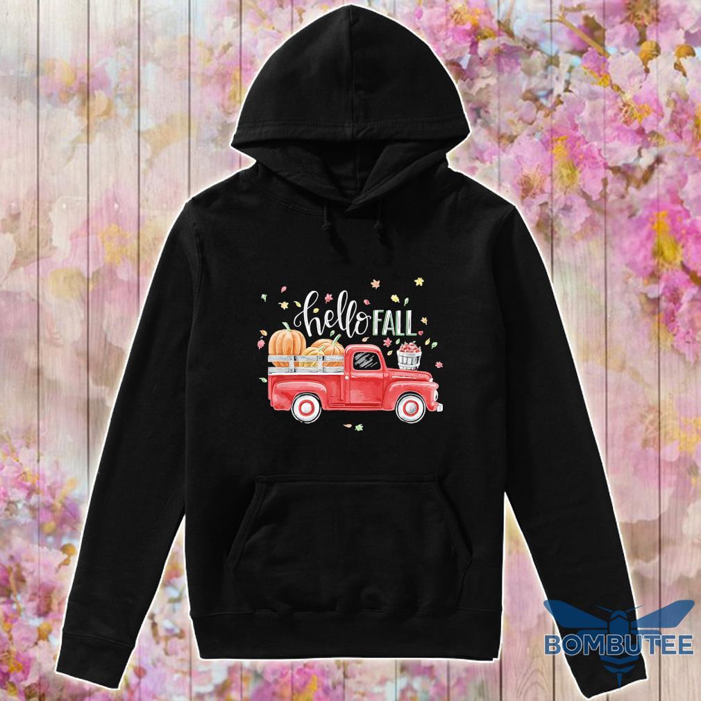 Truck Pumpkin Hello Fall s -hoodie