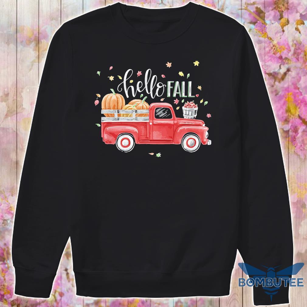 Truck Pumpkin Hello Fall s -sweater