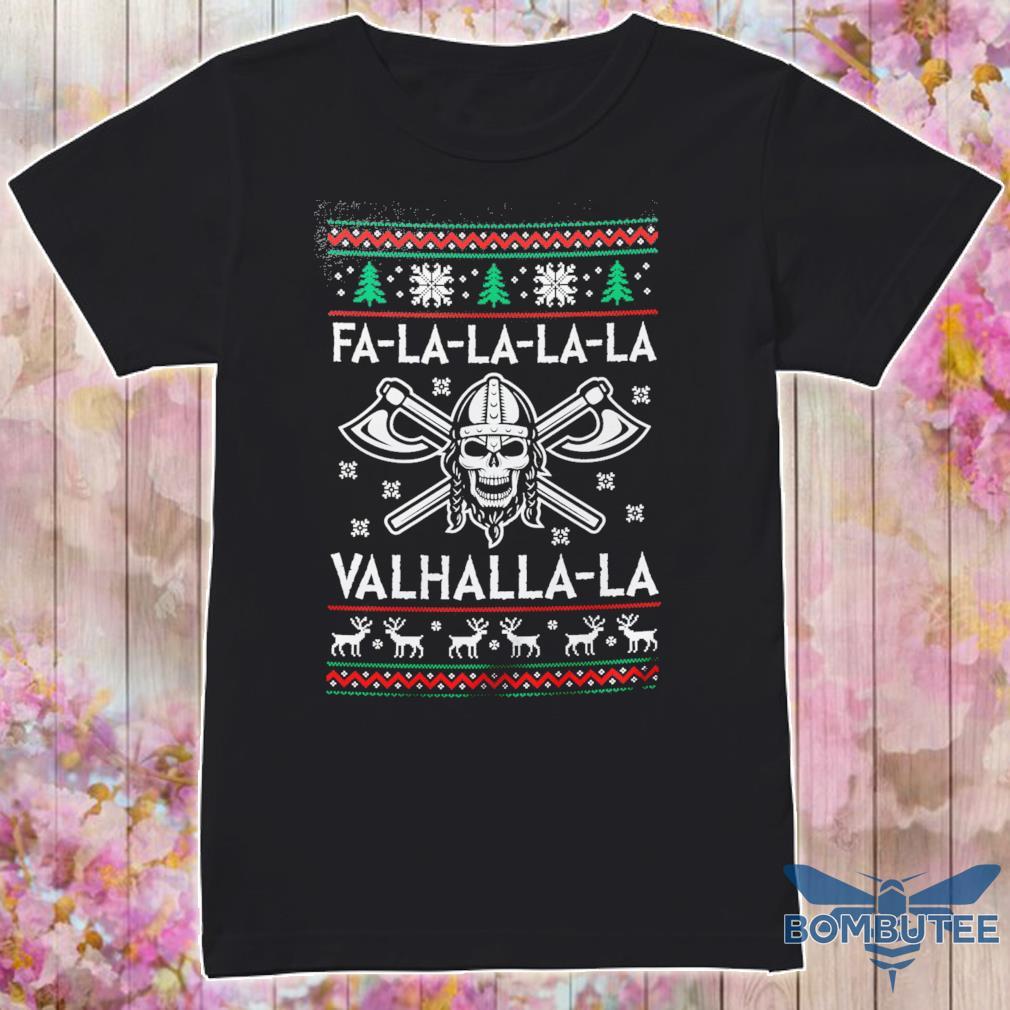 Fa-la-la-la-la Valhalla-la Christmas ugly sweater