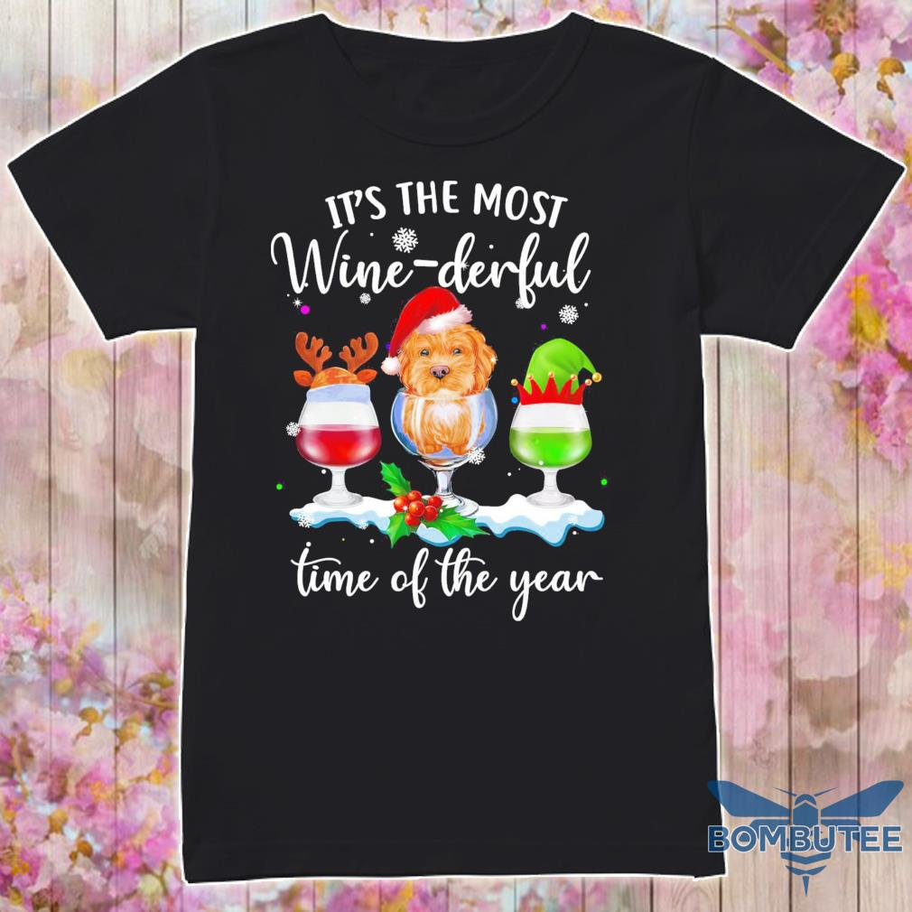 It's the most Wine Derful time of the year Christmas shirt