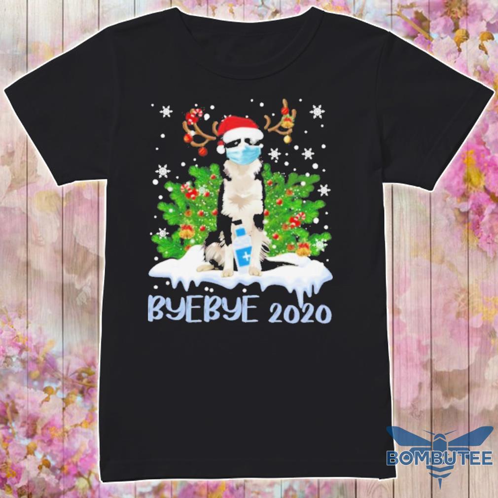 Official Bernese Mountain Dog Face Mask Bye Bye 2020 Shirt