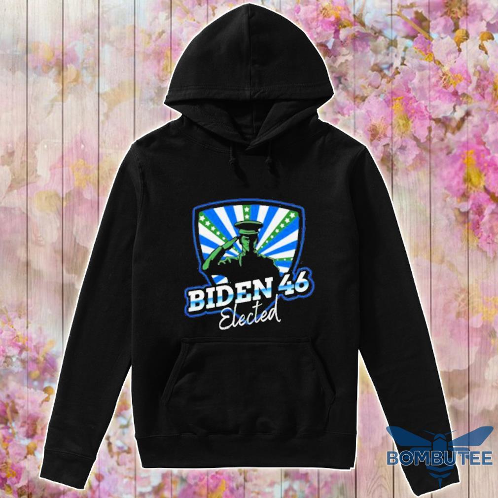 Official Biden 46 Elected Joe Biden 46th President 2020 Shirt -hoodie