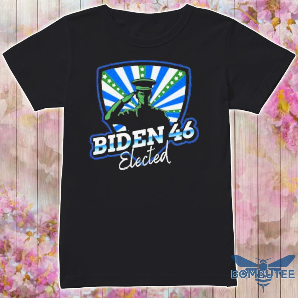 Official Biden 46 Elected Joe Biden 46th President 2020 Shirt