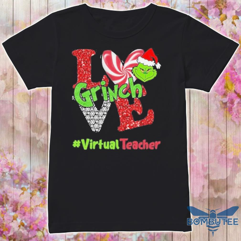 Official Love Grinch #virtualteacher Christmas Shirt
