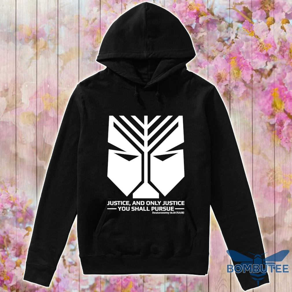 Official Official Scripture On Justice From Bible Shirt -hoodie